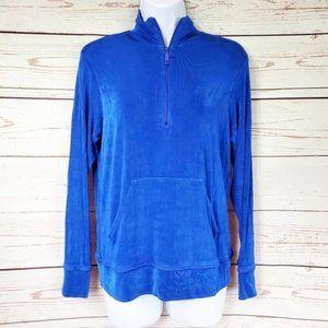 Drapers & Damons blue sweatsuit top size S